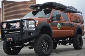 Ford EcoTrek Vehicle Painted with Axalta Coating Systems' Custom Waterborne Paint Wins at SEMA