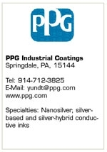 PPG's Addition of Spraylat Opens New Doors for Conductive Inks