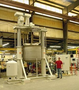 Ross Large Capacity Dual-Shaft Mixers