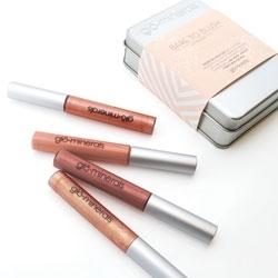 Glo Minerals Bare to Blush Lip Gloss Tin