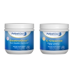 Patient One MediNutritionals Introduces GastroOne & C-Cleanse