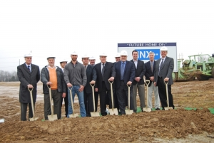 INX conducts groundbreaking ceremony in Ohio
