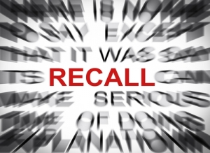 Recalls Up, Says ExpertRECALL Report
