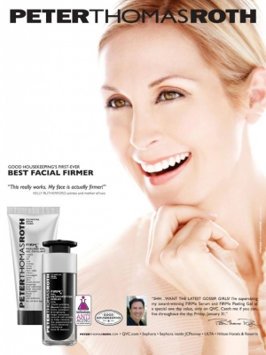 Peter Thomas Roth Unveils First Celebrity Face