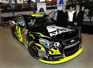 Axalta Racing 2014 Paint Scheme Wows Fans in Charlotte, NC