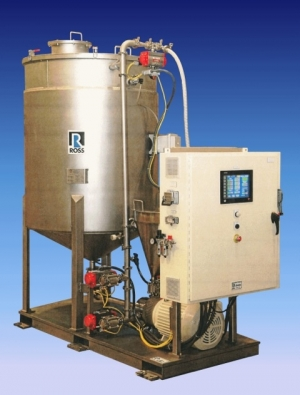 Automated Powder Feeding and High-Speed Mixing Skid System