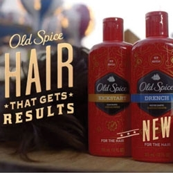 Hair Care Is New from Old Spice