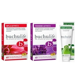 Buchulife Offers Anti-inflammatory, Antibacterial & Antifungal Benefits