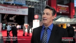 CRB's Marc Pelletier on SIngle-Use Systems at Interphex 2014
