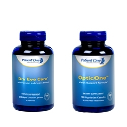 Patient One Introduces Two New Eye Care Formulas