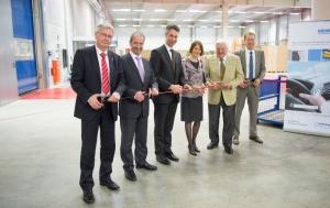 Freudenberg opens new logistics center