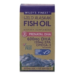 Wiley's Finest Develops Prenatal DHA Supplement