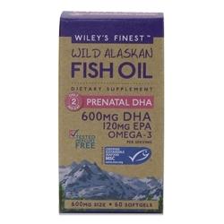 Wiley's Finest Develops Prenatal DHA Supplement