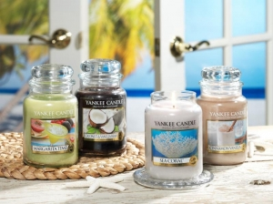 Tropical Getaway with Yankee Candle