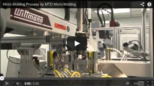 Micro Molding Process by MTD Micro Molding
