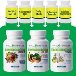 Balanced Trio Offers Time Specific Nutritional Support