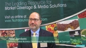 Capsugel's Pete Zambetti Discusses Supplement Innovation & Global Industry Challenges at Vitafoods