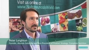 Peter Leighton Talks About Functional Food & Beverage Trends at Vitafoods Europe