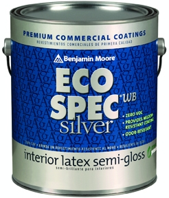 Benjamin Moore Offers Eco Spec WB Silver