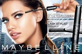 Maybelline Brings Back Adriana Lima