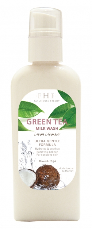 Green Tea Milk Wash is Super Fresh