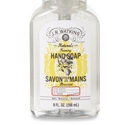 J.R. Watkins Rolls Out Lemon Foaming Hand Soap
