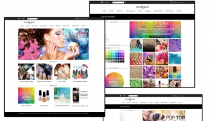 China Glaze Revamps Website