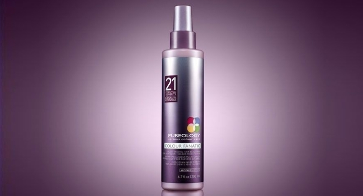 Pureology's New Purple-Hued Packaging is Very 'Green'
