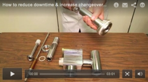 How to reduce downtime & increase changeover speed in tube filling