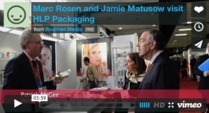Live at Luxe Pack NY: Marc Rosen and Jamie Matusow visit HLP Packaging