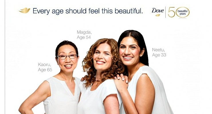 Dove Self-Esteem Project Continues with Birthday Campaign