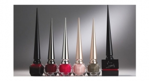 Christian Louboutin's Nail Polish Has Striking Sky High Stiletto Caps