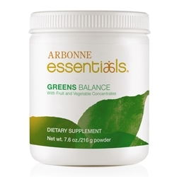 Arbonne Presents Essentials Greens Balance