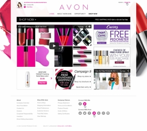 New Ecomm Site for Avon