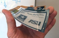 At ASU, Flexible Displays have Military and Commercial Futures