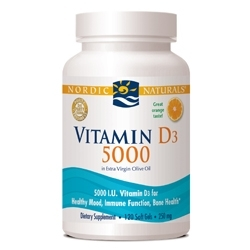 Nordic Naturals Develops Vitamin D3 5000