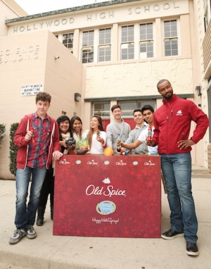 Old Spice Partners with Second Chance Toys