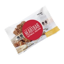Heartbar Oatmeal Squares Feature Protanica Plant Sterols