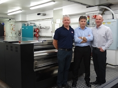 SGS installs first EVO automatic flexo plate system in UK