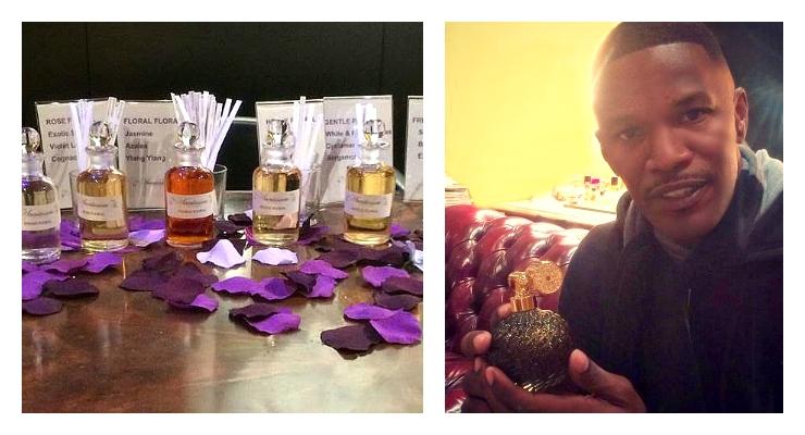 Jamie Foxx Gets Schooled on Fragrances