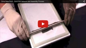 Cima NanoTech - SANTE Network Self-Assembly Process