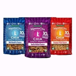 Mamma Chia Debuts Granola Clusters & Clean Energy Drink