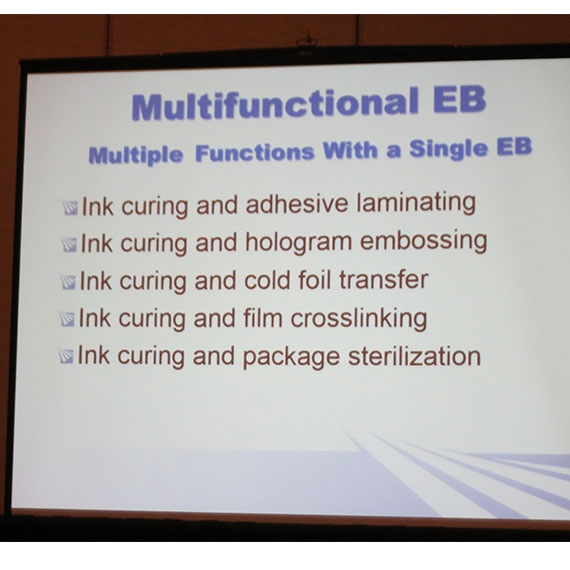 Electron Beam Benefits in Packaging Seminar