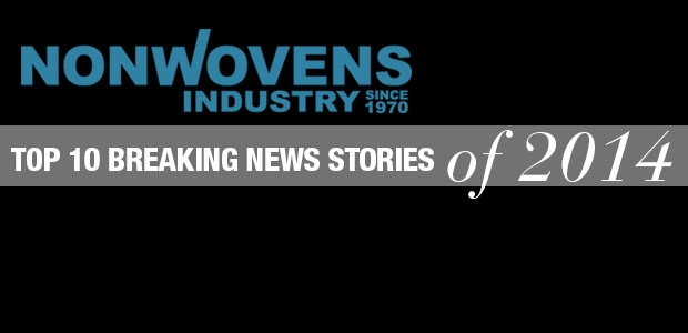 Nonwovens Industry's Top 10 Breaking News Stories of 2014