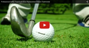 Professional Golfer Fred Funk Knee Replacement Patient Testimonial