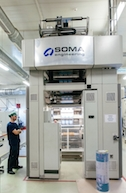 Soma installs second flexo press at Pabex