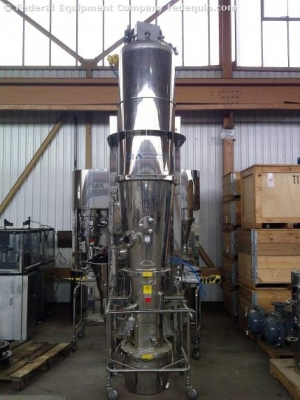 Niro Fluid Bed Dryer Granulator, Model MP3/2/3