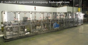 Douglas Machine Bottom-Load Horizontal Cartoner, Model CM