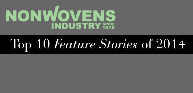 Nonwovens Industry's Top 10 Feature Stories of 2014