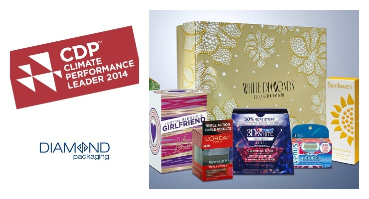 Diamond Packaging Recognized for Taking Action Against Climate Change